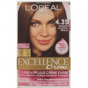 L'Oreal Excellence Creme nr. 4.35 Caramel Bruin