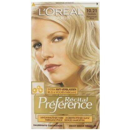 Loreal Haarverf Preference 10.21