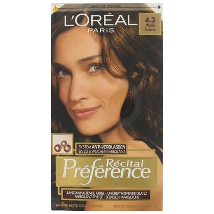 Loreal Haarverf Preference 4.3