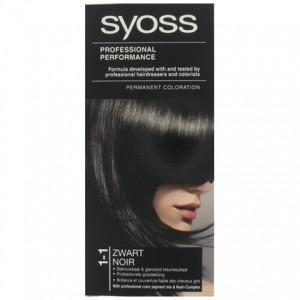 Syoss Haarverf 1-1 Zwart