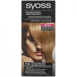 Syoss Haarverf 7-6 Middenblond