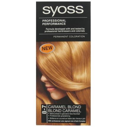 Syoss Haarverf 8-7 Caramel Blond
