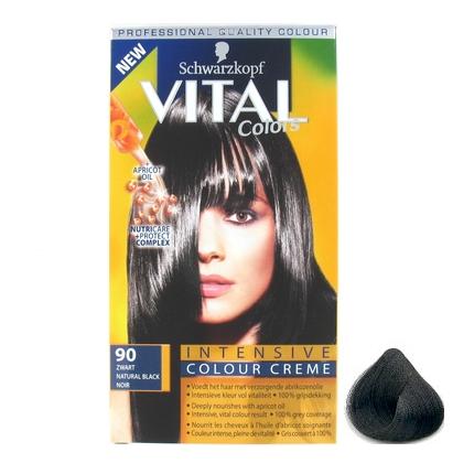 Vital Colours Zwart 90