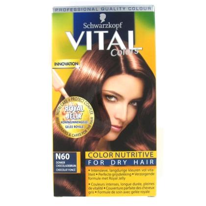 Vital Haarverf N60 donker chocoladebruin