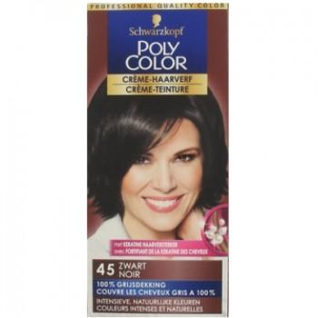 Poly Color Haarverf nr. 45 Zwart